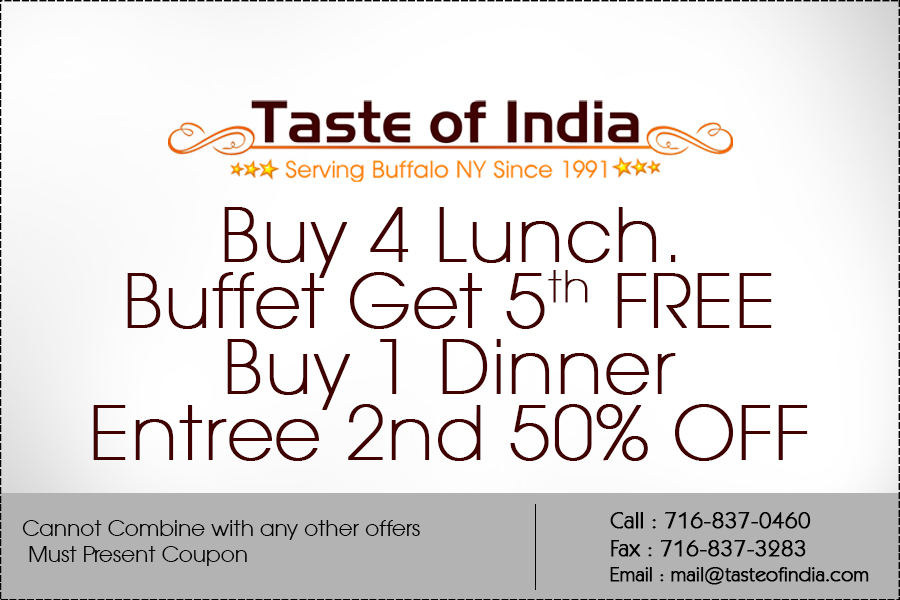 coupons taste of india